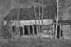 Chambre abandonnée photo stock
