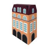 Chambre anglaise type Architecture de l'icône simple de maison en Web d'illustration d'actions de symbole de vecteur de style de  Photo libre de droits