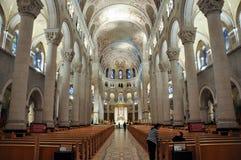 Chambre Anne de Beaupre Basilica, près du Québec, Canada photo stock