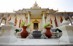 Chambre argentée d'esprit de pagoda images libres de droits