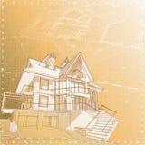 Chambre : attraction technique de vecteur illustration stock