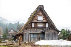 Chambre au village de Shirakawa Photographie stock libre de droits