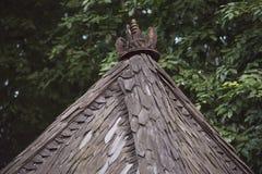 Chambre avec la toit-astuce unique Images libres de droits
