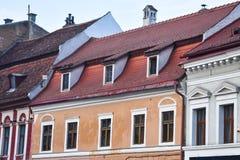 Chambre avec le toit carrelé Image stock