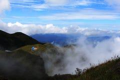 Chambre bleue sur la colline Photographie stock libre de droits