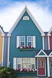 Chambre colorée de bord de la mer Photographie stock libre de droits