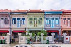 Chambre colorée de ` de Peranakan de ` à Singapour photos libres de droits