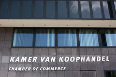 Chambre of commerce in the Hague Stock Images
