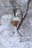 Chambre construite sur un arbre Images stock