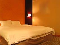 Chambre à coucher d'hôtel Photos libres de droits