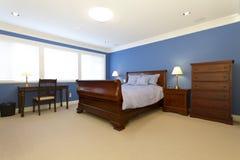 Chambre à coucher vide Photographie stock