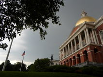 Chambre d'état du Massachusetts, Beacon Hill, Boston, le Massachusetts, Etats-Unis Photographie stock libre de droits