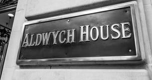 Chambre d'Aldwych à Londres - à LONDRES - la GRANDE-BRETAGNE - 19 septembre 2016 Image libre de droits