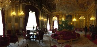 Chambre d'amis de napoléon à Versailles Images stock