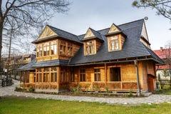 Chambre d'Atma dans Zakopane Photographie stock libre de droits