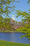Chambre d'Eliot, Université de Harvard, à travers Charles Ri Photographie stock libre de droits