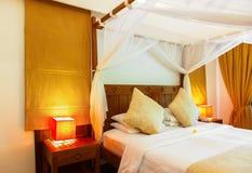 Chambre d'hôtel chez les Maldives Images stock