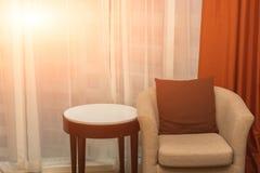 Chambre d'hôtel confortable photos libres de droits