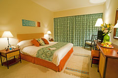 Chambre d'hôtel de luxe Image stock