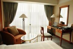 Chambre d'hôtel de luxe Photographie stock libre de droits