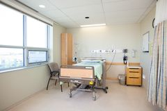 Chambre d'hôpital vide Photos stock