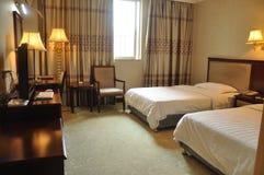 Chambre d'hôtel de la Chine Photo libre de droits