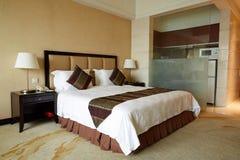 Chambre d'hôtel de luxe photo stock
