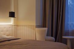 Chambre d'hôtel pour deux Image stock