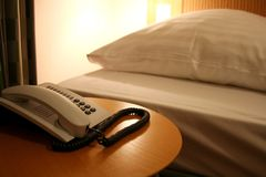 Chambre d'hôtel Photographie stock libre de droits