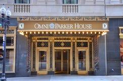 Chambre d'Omni Parker, Boston photos libres de droits
