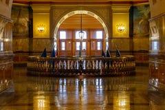 Chambre d'?tat de capitol de Topeka le Kansas image libre de droits