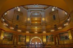 Chambre d'?tat de capitol de Topeka le Kansas images libres de droits