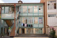 Chambre dans Abanotubani, secteur antique de Tbilisi Photos libres de droits