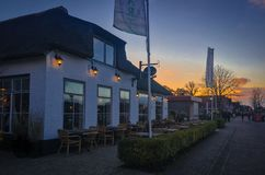 Chambre dans Giethoorn | Hollande, Pays-Bas Photos libres de droits