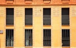 Chambre dans la vieille ville en Espagne Photographie stock libre de droits