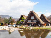 Chambre dans la vieille ville Shirakawako Photo stock
