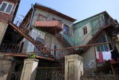 Chambre dans la vieille ville. Tbilisi. La Géorgie. Photos stock