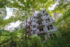 Chambre dans la zone de Chernobyl Photos libres de droits