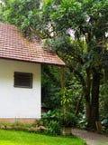Chambre dans le jardin Image libre de droits