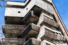 Chambre dans le style soviétique de modernisme dans Dombay image libre de droits