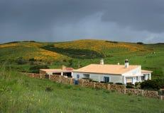 Chambre dans les collines d'Algarve Images stock