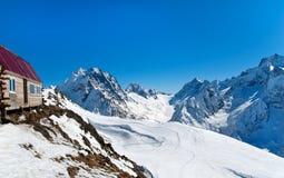 Chambre dans les montagnes Images libres de droits