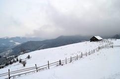 Chambre dans les montagnes Photo stock