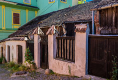 Chambre dans Sighisoara image libre de droits