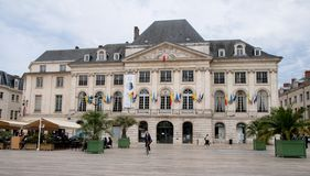 Chambre de коммерция du Луаре в Орлеане стоковое фото