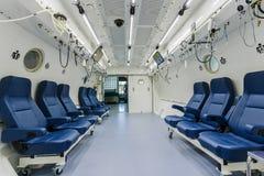 Chambre de barothérapie Image libre de droits
