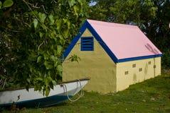 Chambre de bateau tropicale BVI Images libres de droits