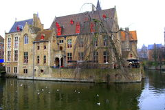 Chambre de Bruges Images libres de droits