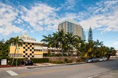 Chambre de Cheston d'hôtel dans le Fort Lauderdale, Etats-Unis Photos stock