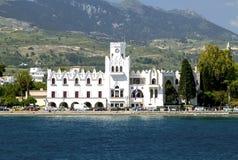 Chambre de commandant Francesco Sans 1514 sur l'île de Kos Photographie stock